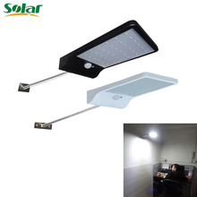 Waterproof Super Bright 36 LED Motion Sensor Solar Light With Mounting Pole Power Lamp Lights For Outdoor Wall Yard(China)