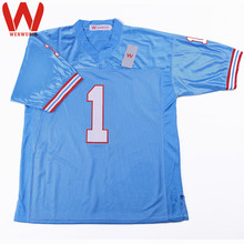 WENWUBIN Mens #1 Warren MOON Embroidered Throwback Football Jersey