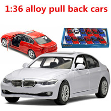 1:36 alloy pull back cars,high simulation 355i model,metal casting,toy vehicles,musical & flashing,free shipping