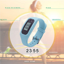 Hot Sell Digital LCD Pedometer Watch Multi-function Digital Display Pedometer Watches Run Step Walking Distance Calorie Counter