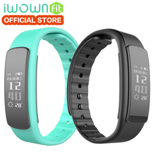Buy 100% original IWOWN I6 HR Smart Band Bracelet Heart Rate Monitor Sport Wristband Bluetooth 4.0 Fitness Tracker IOS Android for $18.93 in AliExpress store