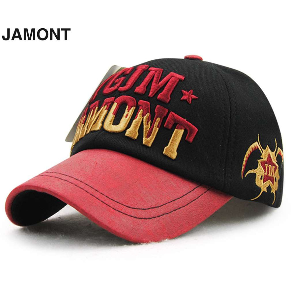 JAMONT Stylish Trendy Hip Hop Alphabet Embroidery Sports Outdoor Fishing Camping Duck Tongue Hat Peaked Cap 10159  2016 Hot Sale<br><br>Aliexpress