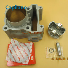 motorcycle ceramic cylinder kit engine block kit with forged piston LC135 for yamaha LC 135 in modified big bore 62mm