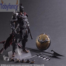Batman Action Figure Play Arts Kai Sparda PVC Toys 270mm Anime Movie Model Sparda Bat Man Playarts Kai T