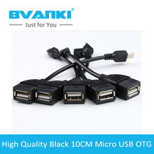 [Bvanki OTG]50Pcs/Lot Buy Direct From China Factory best design micro usb otg to usb 3.0 adapter for MP5 Tablet PC Mobile Phone