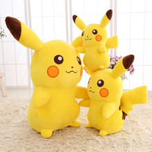 Giant Pikachu Plush Cute Pikachu Plush Toys High Quality Plush Soft Toys For Children's Gift(China)