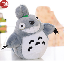 New Miyazaki Hayao My Neighbor Totoro Plush Dolls CATBUS Baby Toys Anime Pillow Ha yao Cartoon Plushie Figures 3 Size Collection