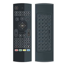 MX3-L backlight Backlit Air Fly Mouse Remote Control 2.4G RF Wireless Keyboard For KM8 PX 96 H96 pro Android TV Box