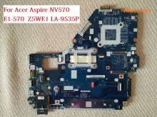Laptop motherboard for acer aspire NV570 E1-570 NBMEQ11001 Z5WE1 LA-9535P with processor on board HM70 GMA HD DDR3