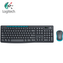 Logitech MK275 Wireless Optical Gaming Mouse Saving Power Waterproof Ergonomic Notebook Keyboard Combo Set with Mini Receiver(China)
