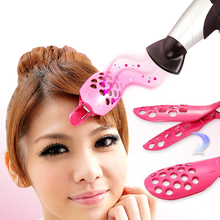 1 Piece Rose Red Bangs Hairpin Shape Bangs Clip / Create The Perfect Bangs Hair / Disk Hair Necessary Tools RP1(China)