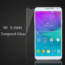 100pcs Screen Protector 0.3MM premium Tempered Glass for Samsung galaxy Note 5 Note 4 Note 3 9000 Note 2 N7100 protective films