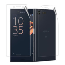 Qosea (4 PACK)Clear LCD Front+Back Screen Protector Guard Shield Film Skin For Sony Xperia X Compact Ultra-thin Explosion-proof