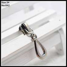 3# Wholesale 10pcs Zipper Sliders Metal Zipper Pulls zipper Head For Handbag/ Backpack/Clothing/Sewing Tailor Tools 042