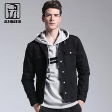 Autumn and Winter New Men's Casual Black Jacket Male Single-breasted Stretch Casual Vest Cardigan(China)