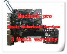 "For MACBOOK PRO UNIBODY 13"" A1278 A1286 A1297 A1370 A1369 A1502 A1425 A1398 A1465 LOGIC BOARD MOTHERBOARD LAPTOP REPAIR SERVICE"