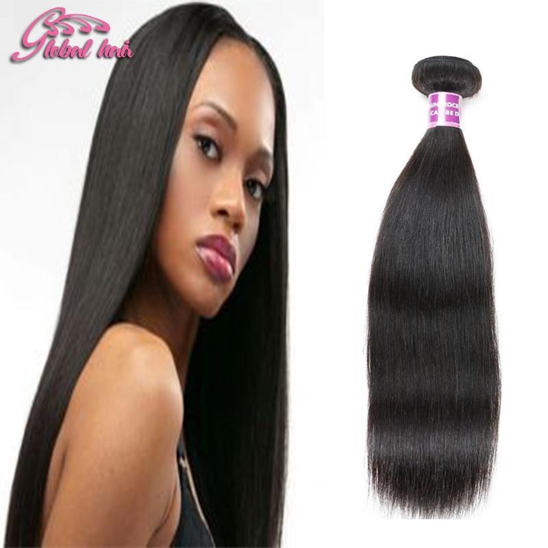 Gluna Hair Brazilian Virgin Hair Straight 1 pcs/Lot virgo hair 100%company Unrocessed Brazilian Straight human Hair Weave<br><br>Aliexpress