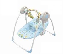 electric baby swing chair baby rocking chair toddler rocker vibrating baby bouncer(China)