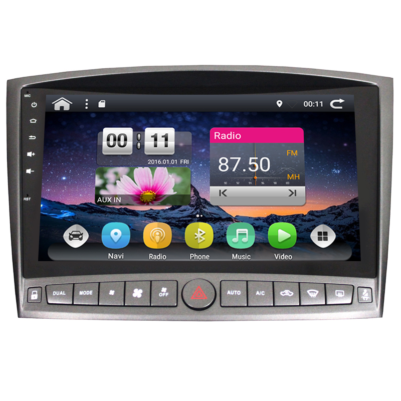 Quad core Android 6.0 car dvd player for Lexus IS250 2006 2007 2008 2009 2010 2011 car raido stere gps headunit support 4G