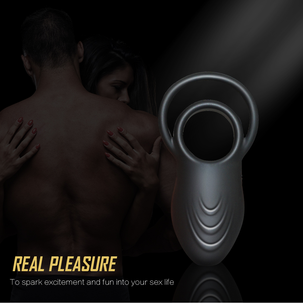 _0Silicone USB Penis Clitoris Ring Vibrator for Men Delay Rings Penis Cock Sexy Toys for Male Sex Products Ring Vibrator for Woman6