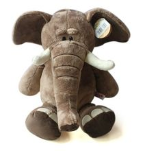28cm Super cute Germany NICI jungle brother doll elephant  plush toy for birthday gifts 1pcs
