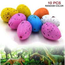 10 Pcs Dinosaur Eggs Magic Hatching Growing Dinosaur Fun Toy Add Water Grow Dino Egg Children Kid Novelty Toys Gift Gadget