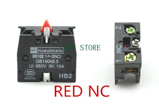 10 x TELEMECANIQUE ZB2-BE101C NC CONTACT BLOCK REPLACES TELE 10A 400V