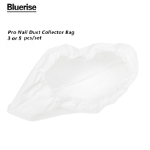 Pro Nail Dust Collector Bag For nail Dirt Collection Machine C003 Vacuum Cleaner Cleaning Tool For Salon Nail Art 5 pcs/set