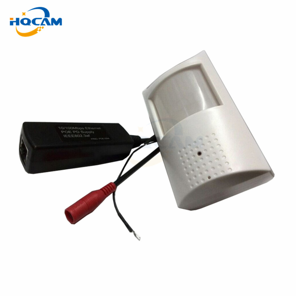 HQCAM 1.0 megapixel 720p mini POE camera with Extra microphone CAMERA 1.0MP ONVIF P2P Plug and Play Mini POE IP Camera indoor<br>