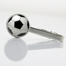 Novelty Interesting sports events Tie Clips Football Rugby art picture tie tacks vinatge city map necktie pin men jewelry T802