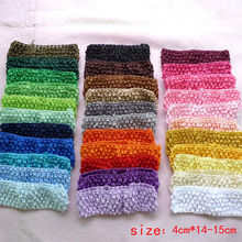 33colors Stretch Elastic Headbands DIY headband Hair Accessories 1.5 inch Free Shipping 15pcs/lot