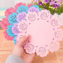 Pink Red Blue Colorful Useful Food Grade Silicone Coaster Cup Drinks Holder Mat Tableware Placemat Wholesale