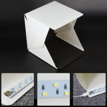 Portable Folding lightbox Photography Photo Studio Softbox Lighting Kit Light box for iPhone Samsang Digital DSLR Camera New