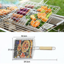 BBQ Tool Barbecue Grill Stainless Steel Replacement Mesh Wire Net Outdoor Cook Picnic(China)