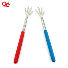 Convenient Claw Telescopic Ultimate Stainless Steel Back Scratcher extendible From 22 to 59cm(China)