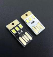 NEW Mini ultra-thin mobile usb small light usb light leds usb camping light Baby small night light(China)