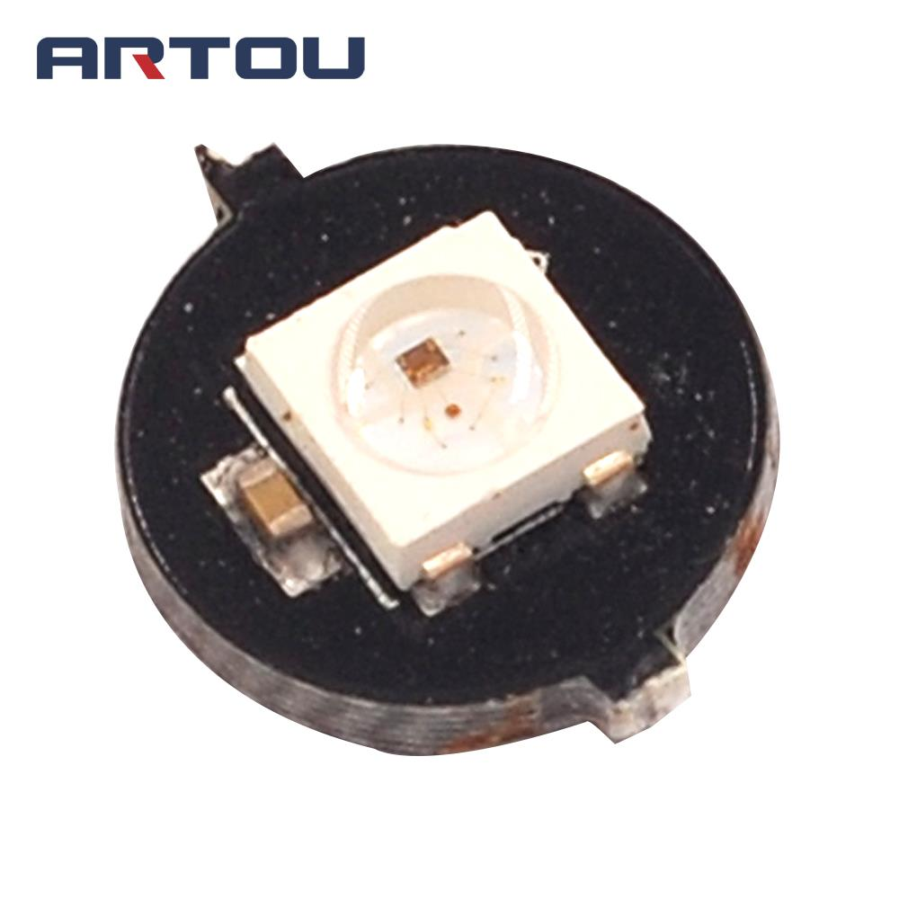 1Bits WS2812 5050 RGB LED Ring Lamp Light with Integrated Drivers Round Development Board