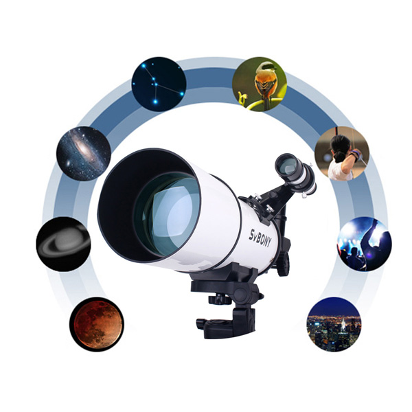 SVBONY 80mm Refractor Telescope Fully Coated Glass Optical 54 (27)
