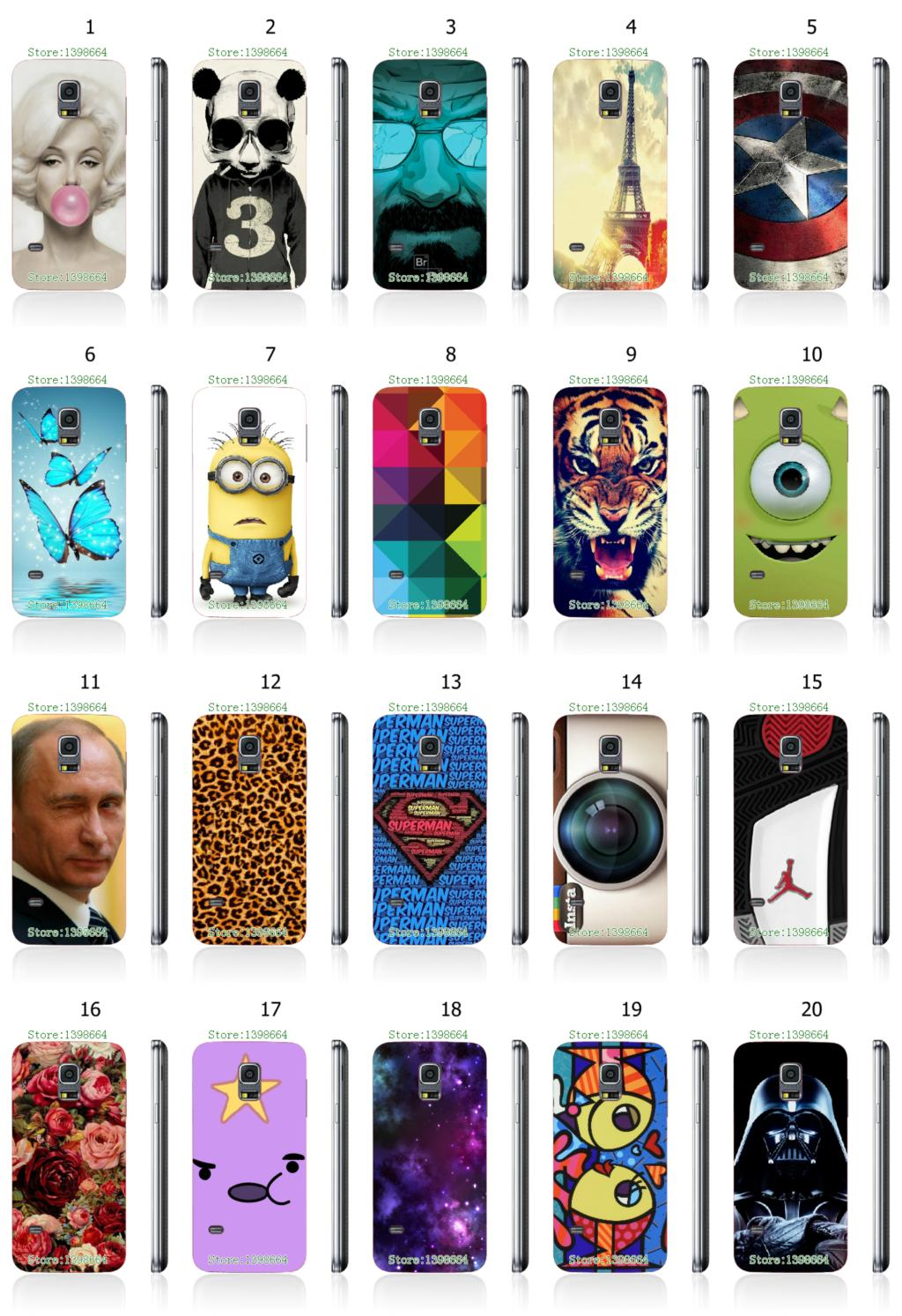 New Arrival hot sell cartoon superman jordan shoe designs white hard case cover for Samsung galaxy s5 mini G800 Free Shipping