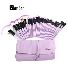 Professional Makeup Brushes Set High Quality 32 Pcs Makeup Tools Kit Premium Full Function Blending Powder Foundation Brush