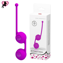 Buy Silicone Smart Ball Kegel Ball Ben Wa Ball Vagina Tighten Exercise Vibrators Vaginal Ball Sex Toys Women