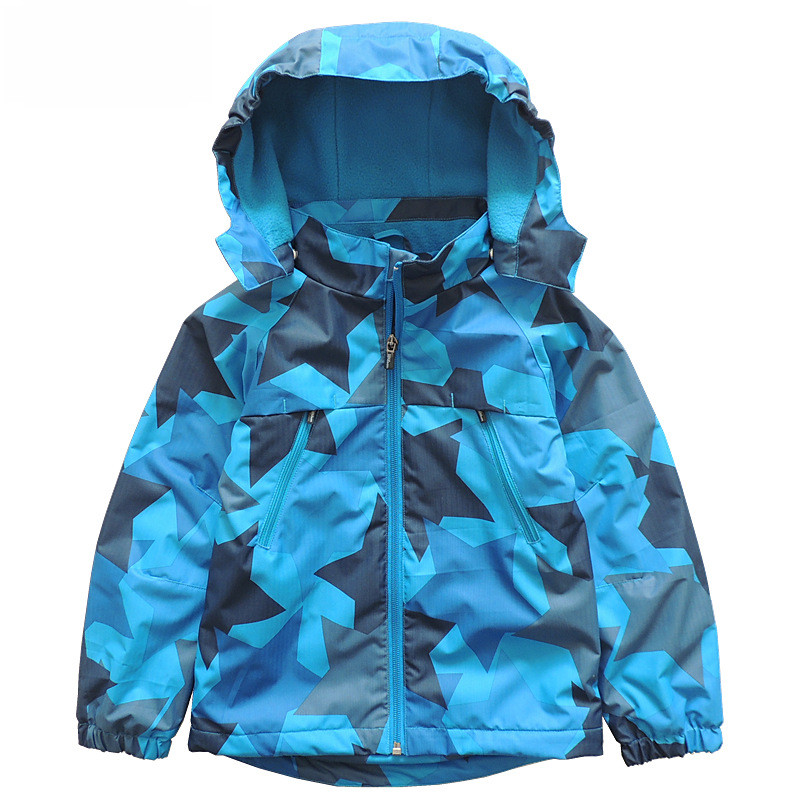 New fashion spring autumn winter children kids jacket coats baby boys girls jackets waterproof windproof jackets double-deck<br>