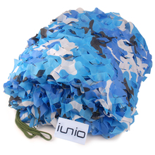 Camouflage Net 2M*3M Polyester Material+Nylon Strap Sun Shelter Car Drop Hidding Military Exercise Camo Net Camping Hunting