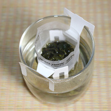 100pcs/lot New PET Empty Pyramid Tea Bag Tea Infuser Scented Tea Strainer Teabags Hanging 7.3*9cm