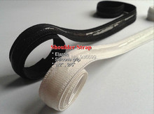 "30meters pack silicone gripper elastic 1/2""  webbing  shoulder strap tape bras lingerie girdle color black sewing accessories"