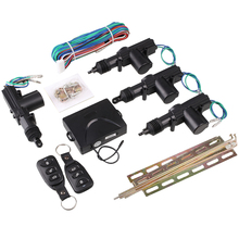 Auto Car Door Central Lock Automatic Locking Alarm Security Keyless Entry Kit