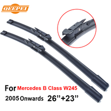 QEEPEI For Mercedes B Class W245 2005-Present 26''+23''R Auto Wipers Blade Accessories For Auto Rubber Windshield Wiper ,CPB109