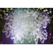 DIY Creative 12pc Artificial Ginkgo Leaf for Home Wedding Garden Decoratios White Garden Artificial Plant decorative flower(China)