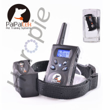 Heropie 500M Remote Pet Dog Training Collar Rechargeable Blue Screen Pet Dog No Bark Collar Pet Bark Stop Collar(China)
