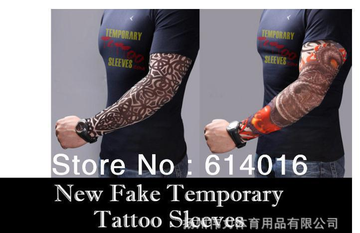 1pcs Bulk Lot Tattoo Sleeve Stretchy Fake Temporary Costume Fancy Dress Artist Johnny Makes You Look Inked New In Arm Warmers From Men S